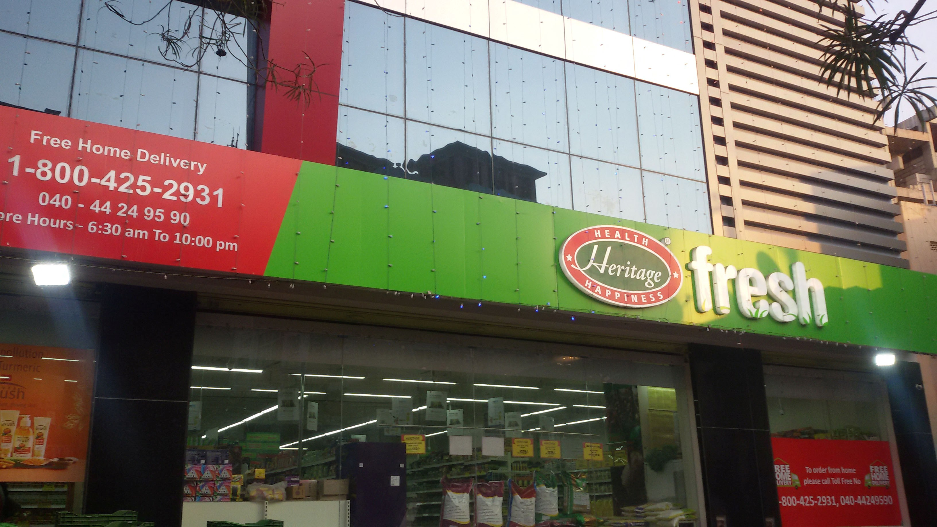 Heritage fresh- East Maredpally  Hyderabad